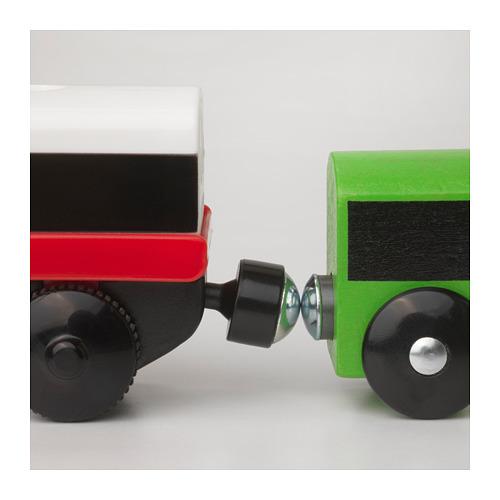 LILLABO lokomotif dengan baterai