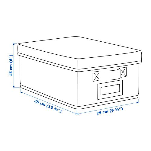 STORSTABBE kotak dengan penutup