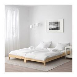 UTÅKER - Tpt tidur dpt ditumpuk dg 2 kasur, kayu pinus/Husvika keras