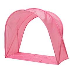 SUFFLETT - Tenda tempat tidur, merah muda