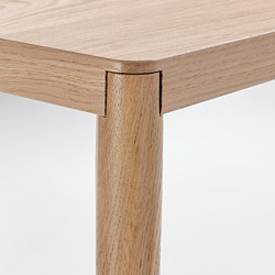 RÅVAROR - Console table, oak veneer