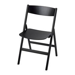 RÅVAROR - Folding chair, black