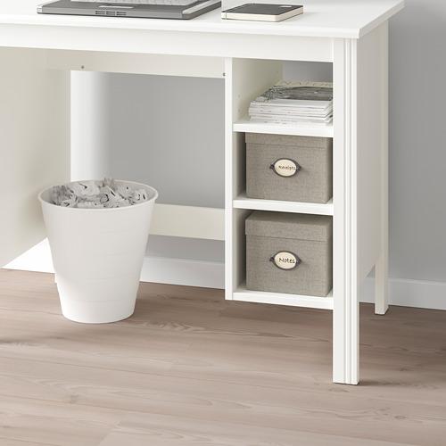 BRUSALI - meja, putih, 90x52 cm | IKEA Indonesia - PE778403_S4