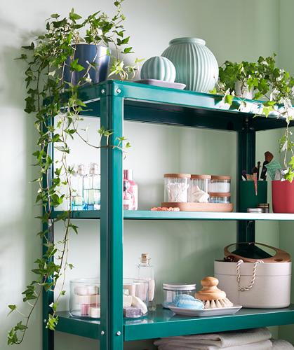 KOLBJÖRN - unit rak dalam/luar ruang, hijau, 80x81 cm | IKEA Indonesia - PH167672_S4