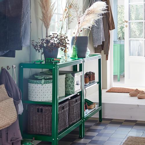 KOLBJÖRN - unit rak dalam/luar ruang, hijau, 80x81 cm | IKEA Indonesia - PH168365_S4