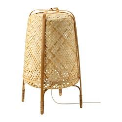 KNIXHULT - Floor lamp, bamboo
