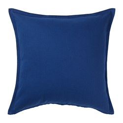 GURLI - Cushion cover, dark blue
