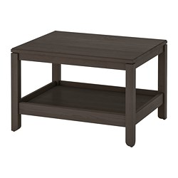 HAVSTA - Coffee table, dark brown