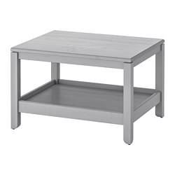 HAVSTA - Coffee table, grey