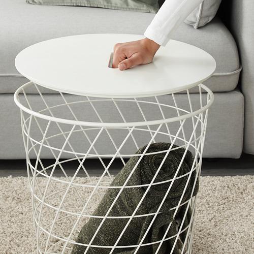 KVISTBRO - meja penyimpanan, putih, 44 cm | IKEA Indonesia - PE631904_S4