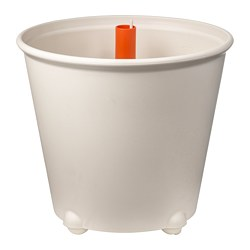 IKEA PS FEJÖ - Self-watering plant pot, white
