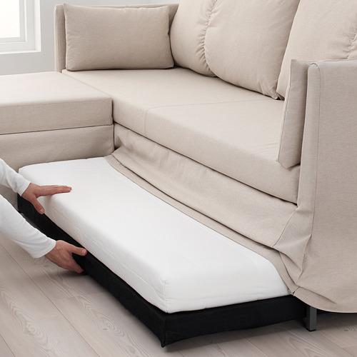 SANDBACKEN sofa tempat tidur sudut