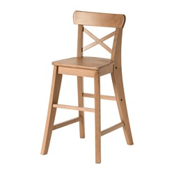 INGOLF - Junior chair, antique stain