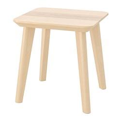 LISABO - Meja samping, veneer kayu ash