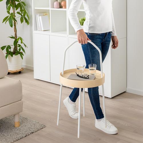 BURVIK - meja samping, putih, 38 cm | IKEA Indonesia - PE667049_S4