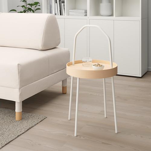 BURVIK - meja samping, putih, 38 cm | IKEA Indonesia - PE667051_S4