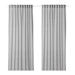HILJA - Curtains, 1 pair, grey