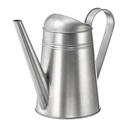 SOCKER - Watering can, in/outdoor/galvanised