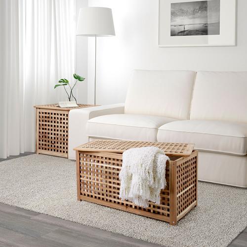 HOL - meja untuk simpanan, akasia, 98x50 cm | IKEA Indonesia - PE603100_S4