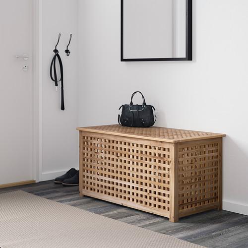 HOL - meja untuk simpanan, akasia, 98x50 cm | IKEA Indonesia - PE605854_S4