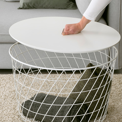 KVISTBRO - meja penyimpanan, putih, 61 cm | IKEA Indonesia - PE618473_S4