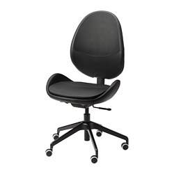 HATTEFJÄLL - Office chair, Smidig black