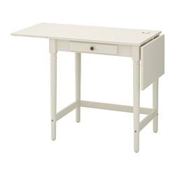 INGATORP - INGATORP, meja, putih, 73x50 cm
