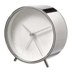 MALLHOPPA - Alarm clock, silver-colour
