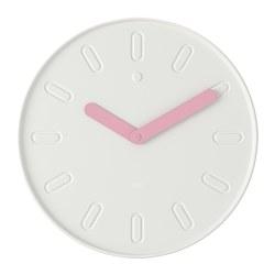 SLIPSTEN - Jam dinding, putih