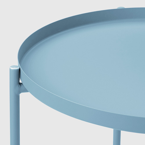 GLADOM - meja baki, biru, 45x53 cm | IKEA Indonesia - PE675305_S4