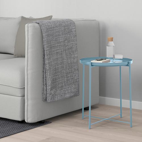 GLADOM - meja baki, biru, 45x53 cm | IKEA Indonesia - PE675475_S4