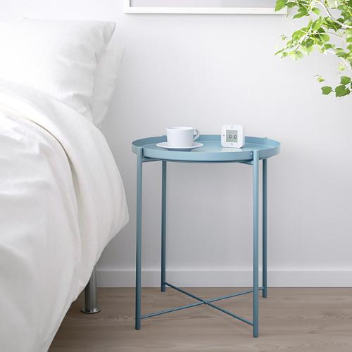 GLADOM - meja baki, biru, 45x53 cm | IKEA Indonesia - PE709864_S4