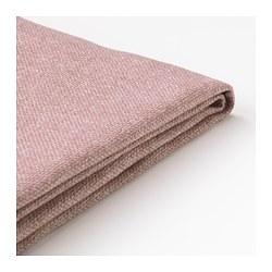DELAKTIG - Sarung bantal ddkan, sofa 3 ddkan, Gunnared cokelat muda-merah muda