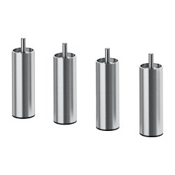 BJORLI - Leg, stainless steel
