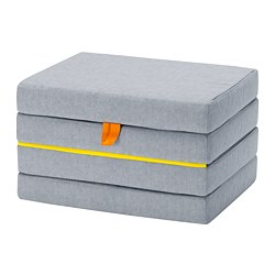 SLÄKT - Pouffe/mattress, foldable