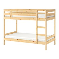 MYDAL - Bunk bed frame, pine