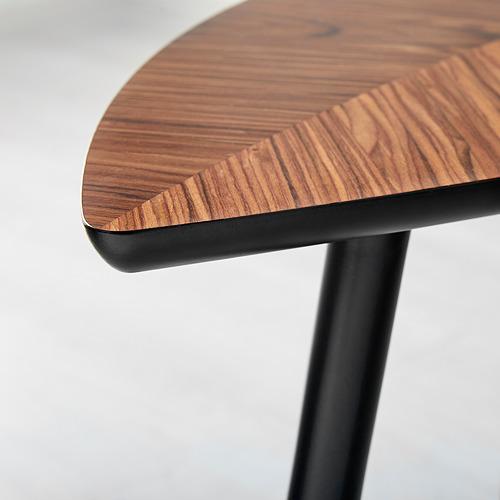 LÖVBACKEN - meja samping, cokelat medium, 77x39 cm | IKEA Indonesia - PE618842_S4