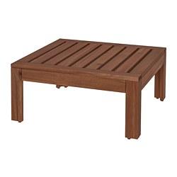 ÄPPLARÖ - ÄPPLARÖ, bagian meja/bangku, luar ruang, diwarnai cokelat, 63x63 cm