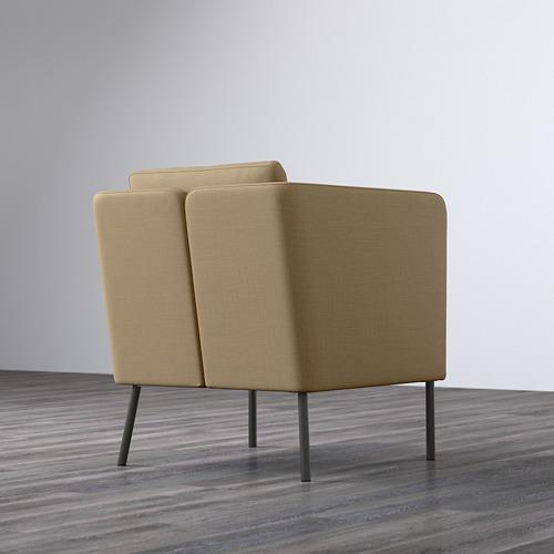 EKERÖ - kursi berlengan, Skiftebo krem | IKEA Indonesia - PE596300_S4