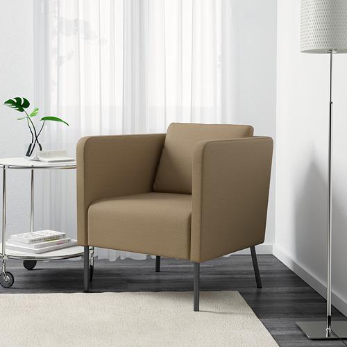 EKERÖ - kursi berlengan, Skiftebo krem | IKEA Indonesia - PE600905_S4