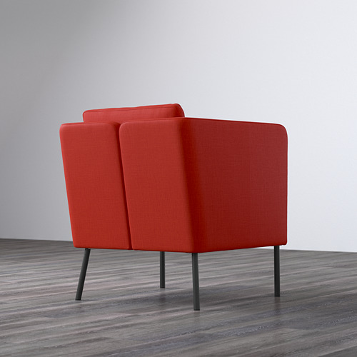 EKERÖ - kursi berlengan, Skiftebo oranye | IKEA Indonesia - PE596458_S4