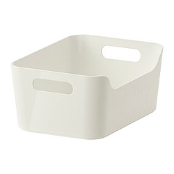 VARIERA - Kotak, putih, 24x17 cm