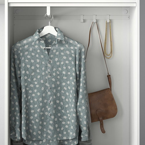 HJÄLPA - rel gantungan, putih, 80x40 cm   IKEA Indonesia - PE778572_S4
