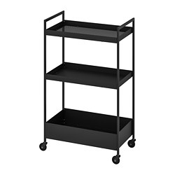 NISSAFORS - Trolley, black