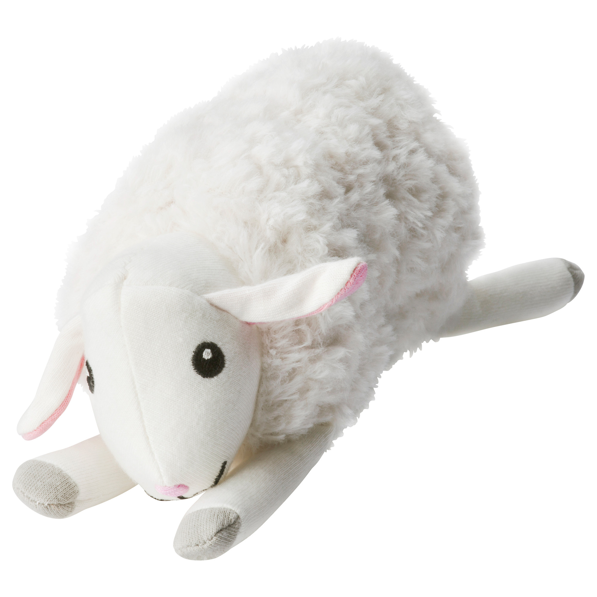 NEW Ikea Leka Musical Toy Sheep Baby Infant Soft Rattle QUICK SHIPPING