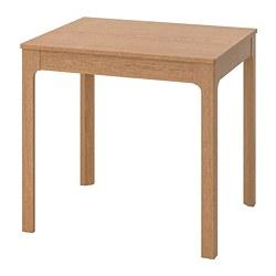 EKEDALEN - Meja yang dapat dipanjangkan, kayu oak