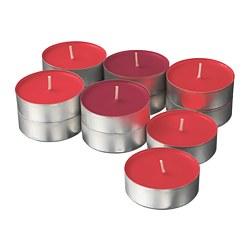 SINNLIG - Lilin beraroma dalam tempat logam, Red garden berries/merah