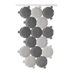 ODDLAUG - Sound absorbing panel, grey