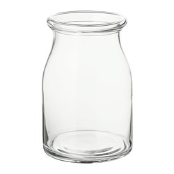BEGÄRLIG - Vase, clear glass