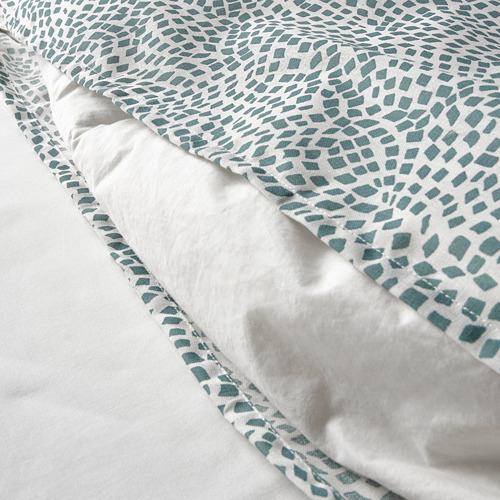 TRÄDKRASSULA sarung quilt dan sarung bantal